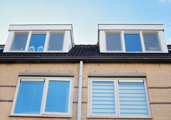 Dakkappellen voorgevel woonhuis Mijdrecht