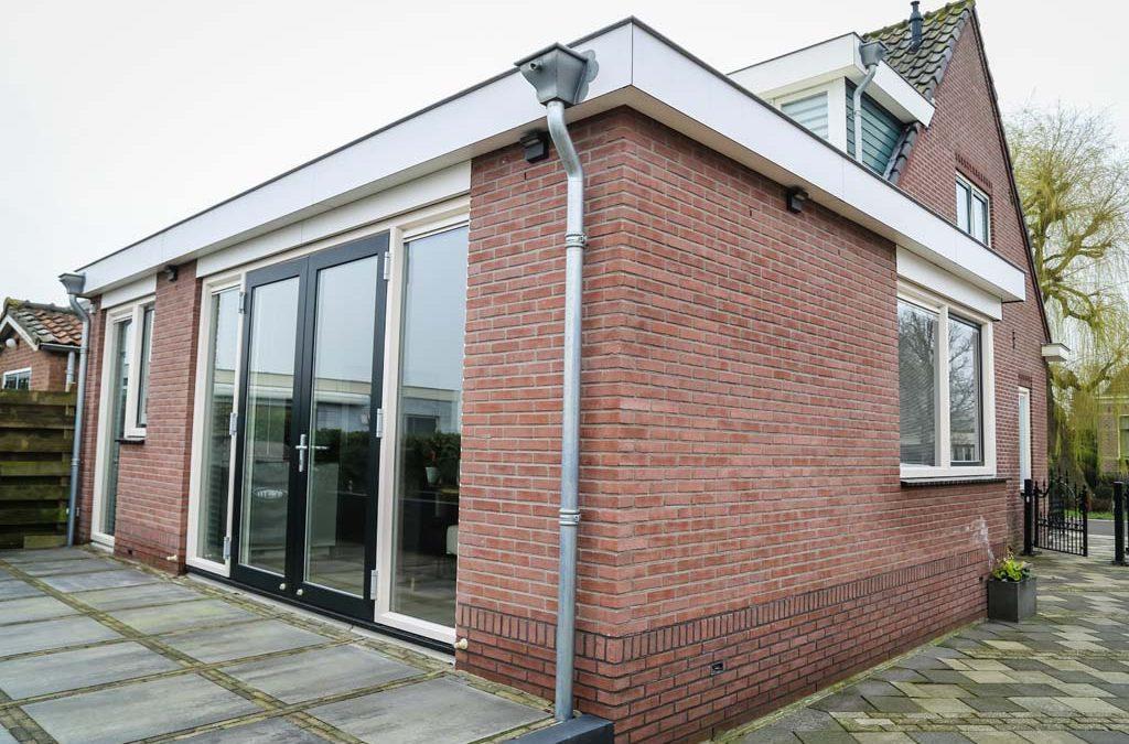 Aanbouw woning in Wilnis