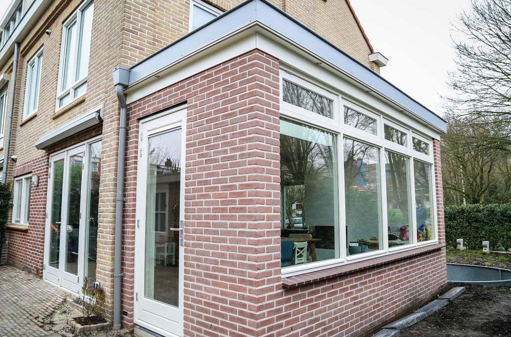 Aanbouw zijgevel Amstelveen en renovatie